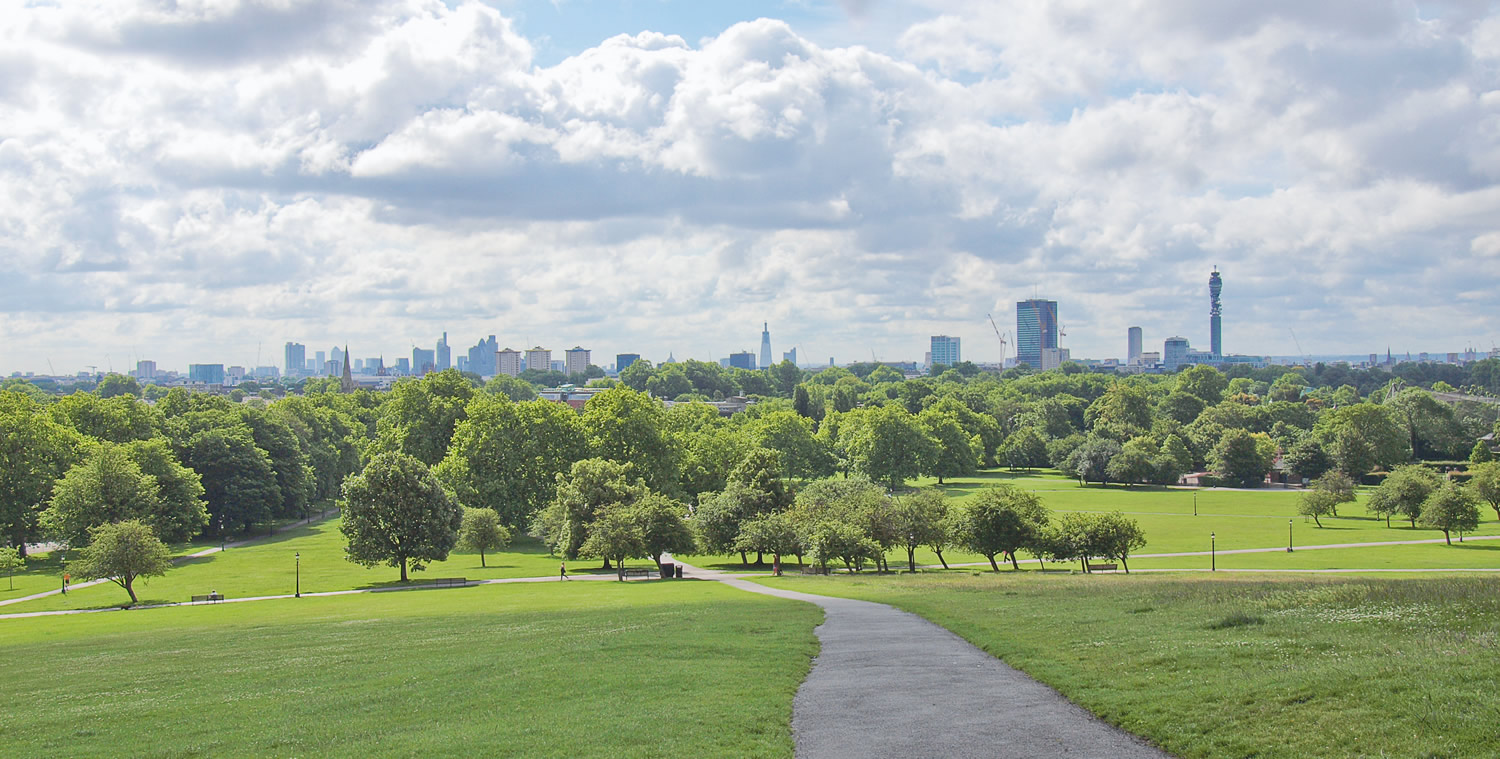 The North West Divide – 2 great London park walks